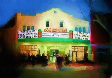 Garden Theatre Exterior Rendering Cinema Treasures