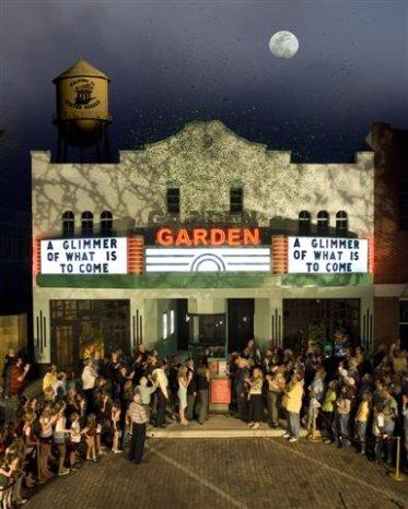 Garden theatre facade revealed cinema treasures - Winter garden theatre box office hours ...