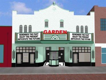 Garden theate facade unveiled cinema treasures - Winter garden theatre box office hours ...